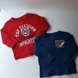 The Children's Place Lot of (2) Boys Long Sleeves